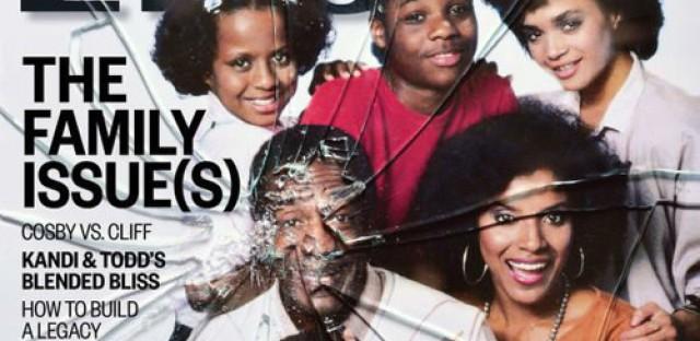 EBONY magazine's controversial November cover: Cosby vs. Cliff