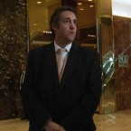 Attorney Michael Cohen arrives at Trump Tower for meetings with then-President-elect Donald Trump in December 2016.