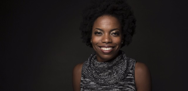Sasheer Zamata stars in the stand-up special, Pizza Mind, which is available on NBC's comedy streaming site Seeso.
