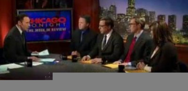 Watch Chicago Tonight: Week in Review. I'll be the one panelist not wearing a (dad) tie