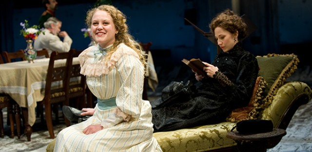 Caroline Neff and Carrie Coon star in Steppenwolf's production of 'Three Sisters.'