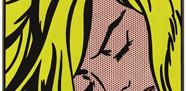 Roy Lichtenstein's 'Sleeping Girl', 1964.