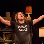 """Erik Jensen as Lester Bangs in """"How to Be a Rock Critic"""""""