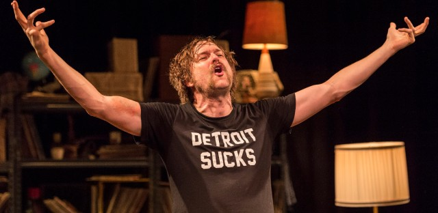 "Erik Jensen as Lester Bangs in ""How to Be a Rock Critic"""