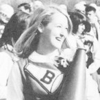 "In high school, Meryl Streep was one of the ""cheeries."""