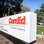 ComEd Sign angled