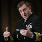 National Security Agency Director Adm. Michael Rogers is also the head of U.S. Cyber Command.