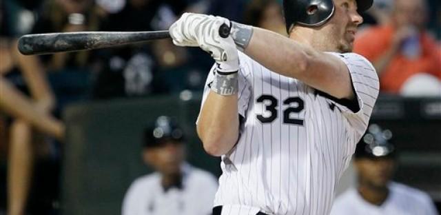 Adam Dunn enjoying his second season with the White Sox.
