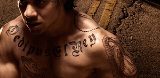 'Oedipus El Rey' transposes 'Oedipus Rex' to modern-day Los Angeles.