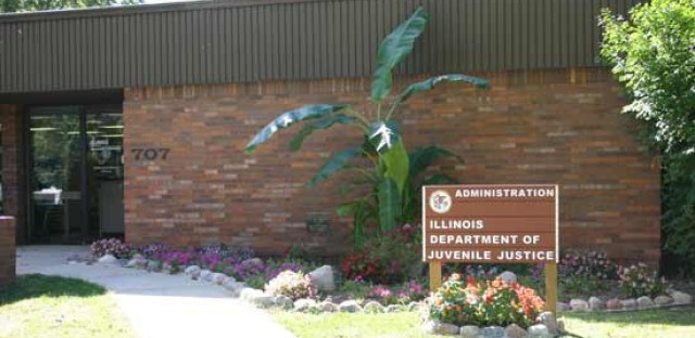 The Illinois Department of Juvenile Justice office in Springfield. Department officials have been called to an emergency hearing on reported sexual victimization inside youth prisons.