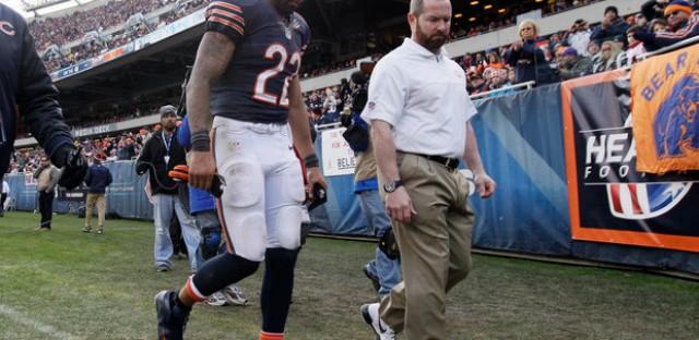 Matt Forte-one of many Bears injured in the win over Minnesota.