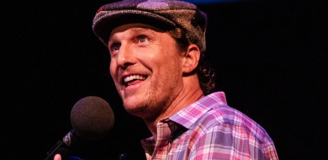 Ask Me Another : Matthew McConaughey: Commerce And Vanity Image