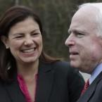 John McCain and Kelly Ayotte
