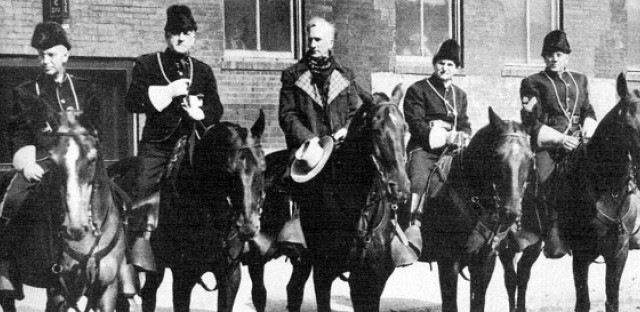 State Street businessmen show the Mountie spirit