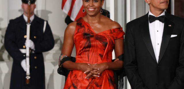 In her book 'Everyday Icon', Kate Betts tracks the evolution of Michelle Obama's style.