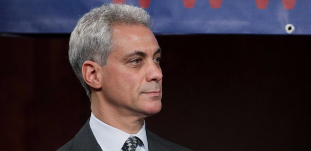 Chicago mayor Rahm Emanuel.
