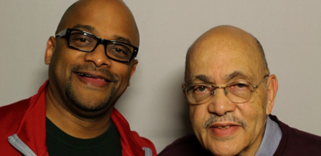 Ron Sampson (right) worked in advertising in Chicago starting in the 1950s.