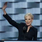 Planned Parenthood's president, Cecile Richards, addresses the Democratic National Convention in July. Republicans in Congress have repeatedly threatened to cut off federal funding for Planned Parenthood because the family planning group performs abortions at some clinics.