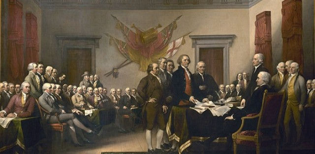 Trumbull's 'The Declaration of Independence'