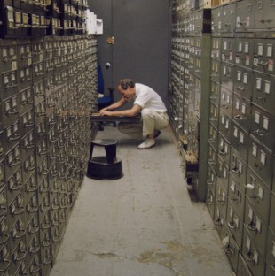 """The New York Times' archives, which are nicknamed """"the morgue."""""""