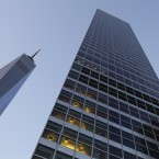 The lower Manhattan headquarters of Goldman Sachs, which has agreed to a $5 billion settlement with the Justice Department over the sale of mortgage-backed securities.