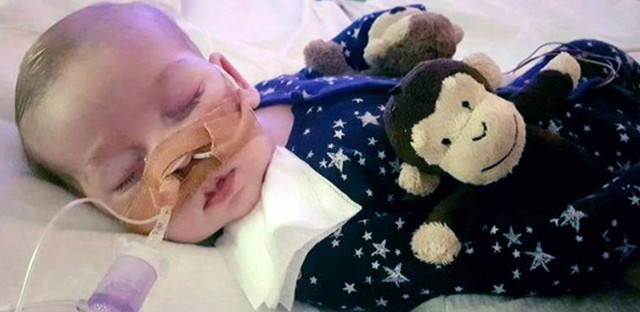 """President Trump offered to """"help"""" after the parents of a terminally ill baby lost their legal battle to take him out of a British hospital and receive experimental treatment in the United States. (AP)"""