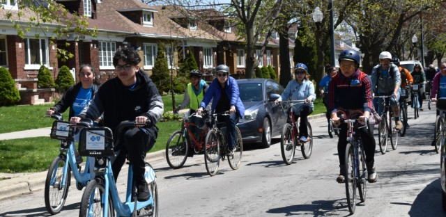 Belmont Cragin youth are fighting for equitable transportation access including bike lanes that are still needed in the neighborhood.
