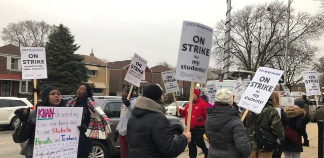 charter strikes
