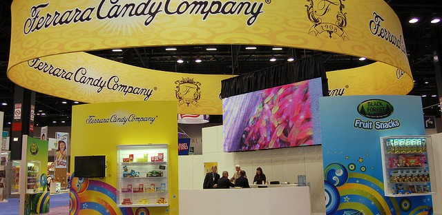 Ferrara Candy Company booth at Sweets & Snacks Expo 2012