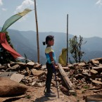 NEPAL EARTHQUAKE TWO GIRLS