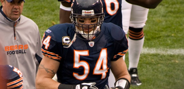 Former Bears great Brian Urlacher will be inducted into the Pro Football Hall of Fame this weekend in Canton, OH.
