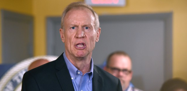 Illinois Gov. Bruce Rauner speaks during a news conference, Wednesday, July 5, 2017, in Chicago. (AP Photo/G-Jun Yam)