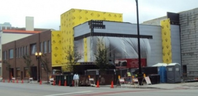 Construction wraps up on the Black Ensemble Cultural Center this fall.