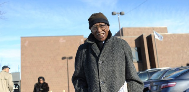 Timuel Black donated his papers to the Chicago Public Library in January.