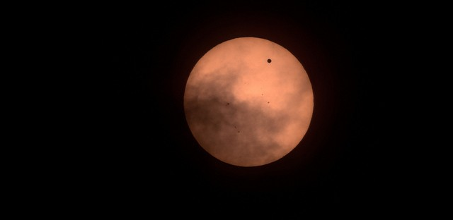 Finding our place in the world, one transit of Venus at a time