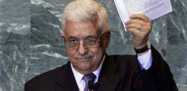 Palestinian President Mahmoud Abbas delivered a letter requesting recognition of statehood to the UN General Assembly.