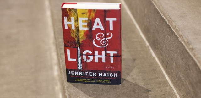 Cover detail of Heat & Light, by Jennifer Haigh.