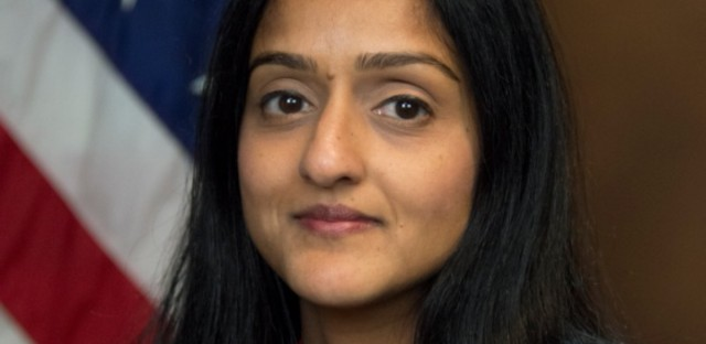 Vanita Gupta seen here in 2012