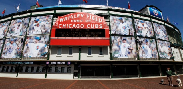 Plans to upgrade Wrigley heats up.