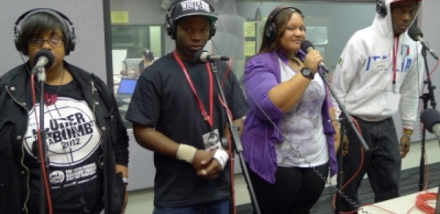 Percy L. Julian High School Slam Poetry Team