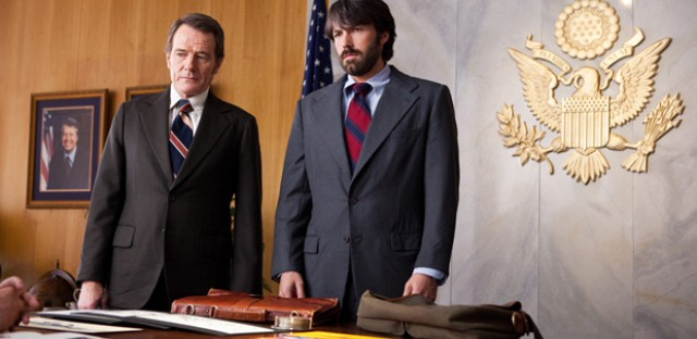 Bryan Cranston and Ben Affleck star in the rescue thriller 'Argo,' which premiers this week at the Telluride Film Festival.