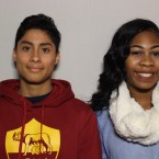 Nick Larson and Shalyn Dixon came to StoryCorps Chicago with their high school English class.