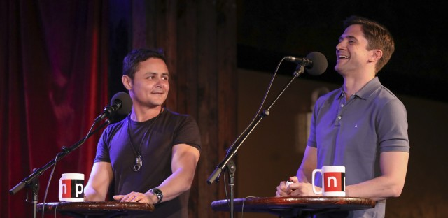 Ask Me Another : Topher Grace And Arturo Castro: Cereal Stans Image