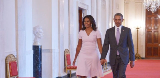President Obama and first lady Michelle Obama, shown here in September, will deliver keynote addresses at the SXSW Interactive and Music festivals, respectively.