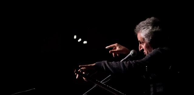 Mohsen Namjoo in live concert Atlanta, Georgia in 2018.