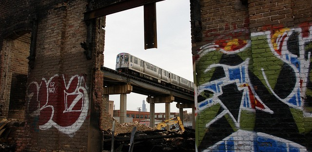 Pink Line Blues - Photo of the Day - January 18, 2013