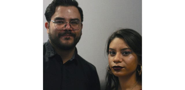 Christian Diaz interviewed Ashley Galvan Ramos in Logan Square.
