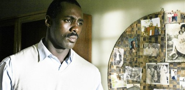 Actor Idris Elba appears in a scene from the HBO film 'Sometimes in April,' which Ashuntantang considers a more robust and objective re-telling of the Rwandan Genocide.