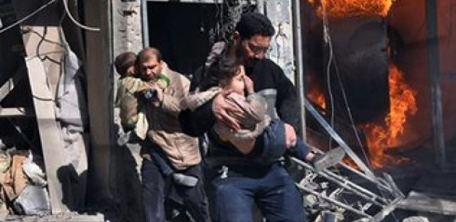The impact of barrel bombs on civilian lives