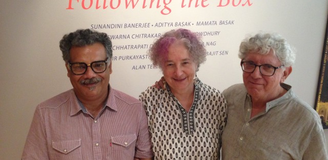 Jerri Zbiral, Alan Teller and Chhatrapati Dutta